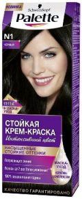 Краска д/волос Palette N1 Черный 100мл