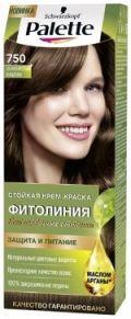 Краска д/волос Palette 750 Золотистый-Каштан 110мл