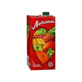 Сок Любимый Мультифрукт 1 л
