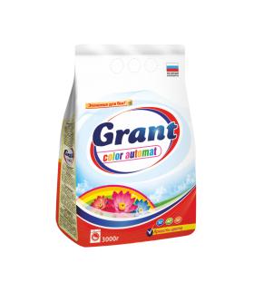 Порошок стир. Grant Color 3кг авт.