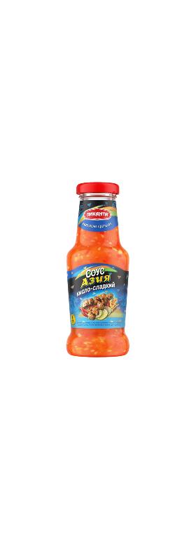 Соус Азия кисл-слад. Пиканта 280г с/б